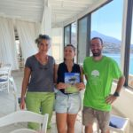 Welcome Kevin,                                                          the first Cyclades Green Volunteer!